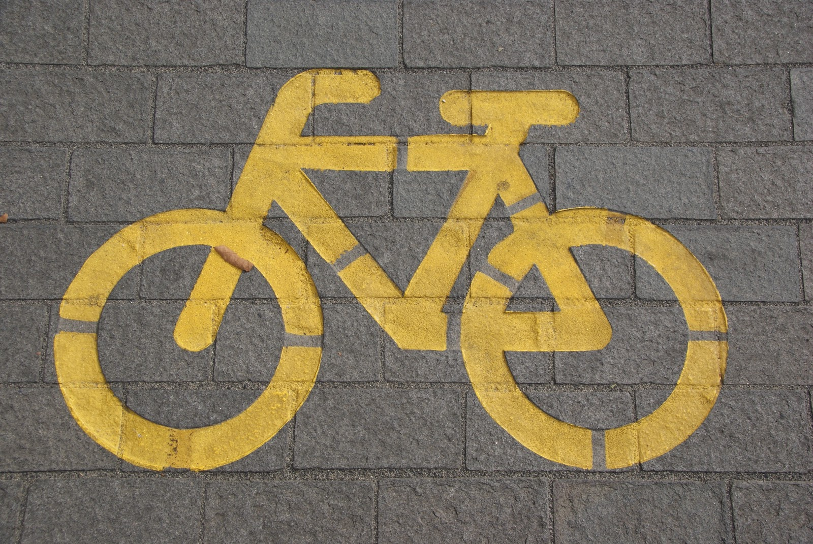 bicycle lane on gray concrete road 210095