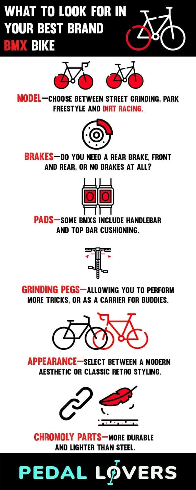 best bmx bike brands infographic