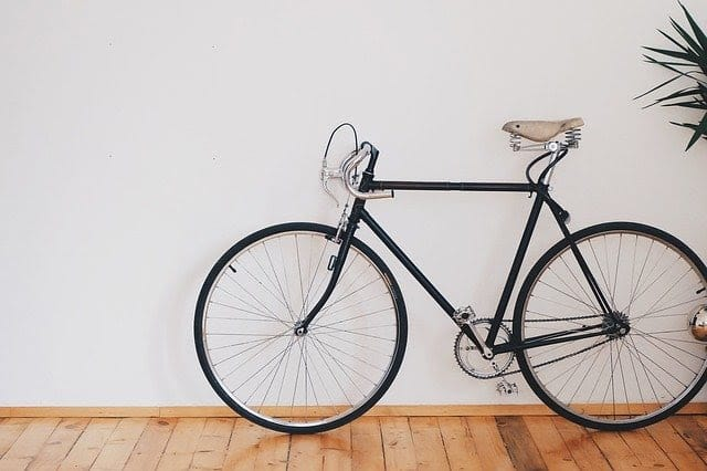 bicycle inside