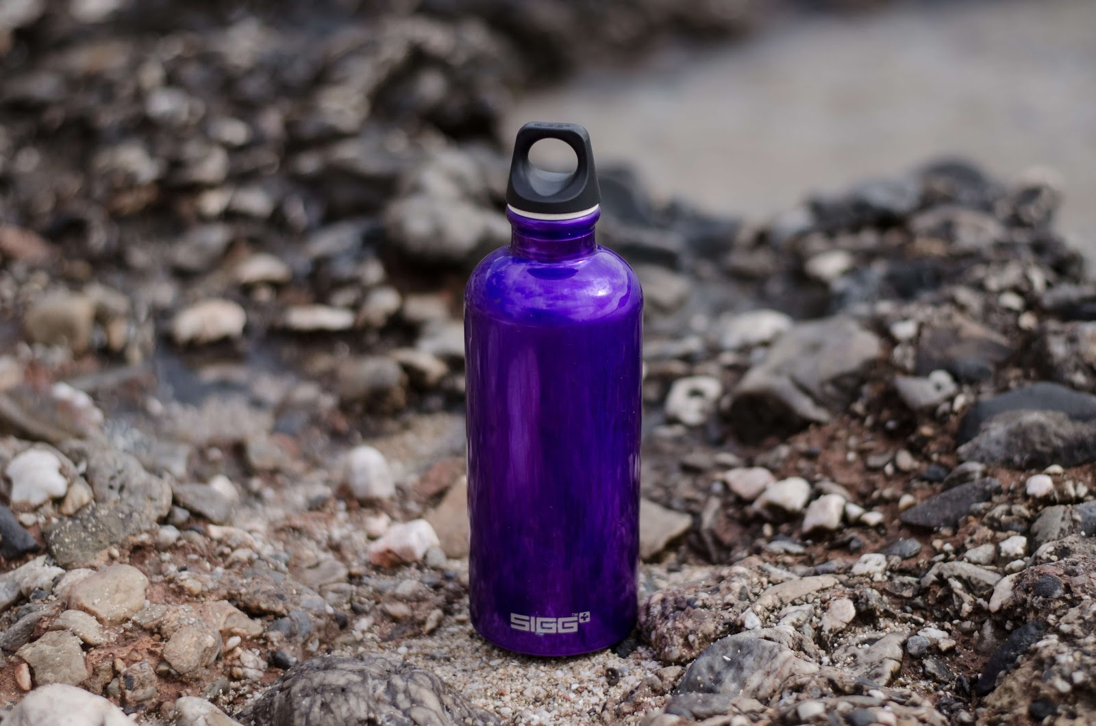 purple sports bottle on ground 1342529 1