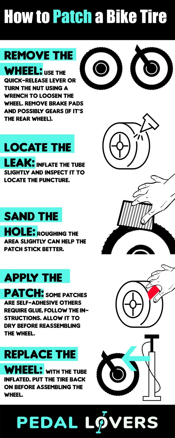 How to Patch a Bike Tire